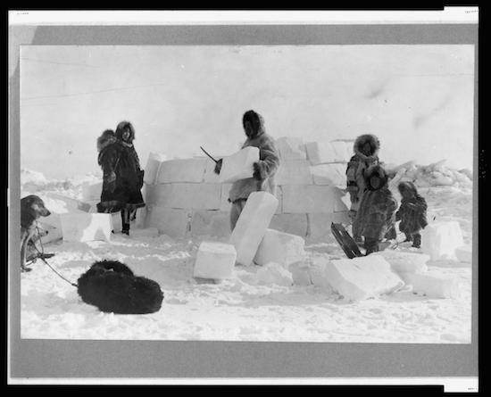 Inuit-Igloo
